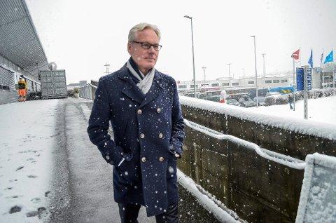 Gisle Skansen, administrerende direktør ved Torp Sandefjord lufthavn. (Foto: Jøran Kristensen (arkiv))