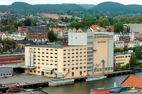 KUNST: Kunst på Møllas fasade er et innspill kommunen har fått fra mange innbyggere. Dette skal nå avklares med eierne.