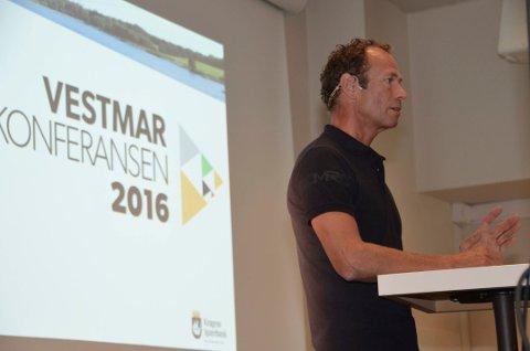 VESTMARKONFERANSEN: Ivar Tollefsen deltok under 2016-utgaven av Vestmarkonferansen. I år deltok han via telefon. Foto: Arkiv/Jon Fivelstad