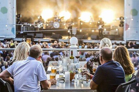 15 KONSERTER: Wrightegaarden halverer antall konserter fra foregående år, men tror likevel på en god sommer.