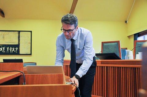 AKTOR: Statsadvokat Håvard Kalvåg var aktor i saken, som gikk for retten i midten av september.
