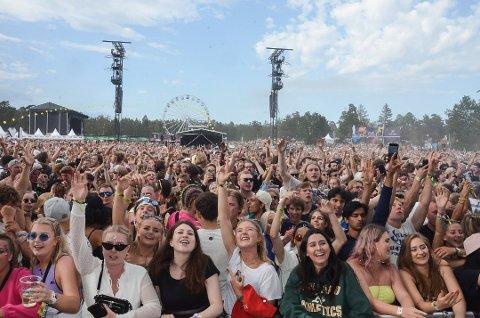 HAR PLANER: Det er planer for Stavernfestivalen, som omsetter for 100 millioner kroner. Men akkurat nå er de fornøyde med å være på dagens nivå. Foto: Bjørn-Tore Sandbrekkene, Østlands-Posten