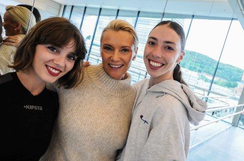 KOMMER TIL IBSENHUSET: Dansere fra Nasjonalballetten er med når Katrine Bakke arrangerer årets veldedighetsfest til inntekt for Young Future.
