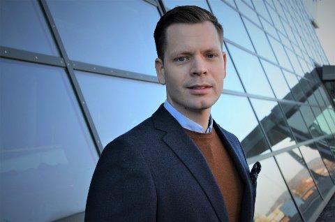 Sikkerhetsrådgiver Thorbjørn Busch i Telenor.