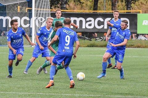 UTE: Toppscorer Martin Brekke (åtte mål) spiller ikke mot Jerv i kveld. Han soner for fire gule kort. Ute er også Marco Tagbajuni.