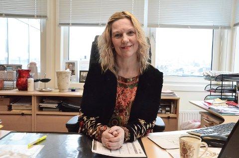 HJALP FOLK: Administrerende direktør Marit Kasin roser sine medarbeidere i Idea Kompetanse - som hjalp hele 774 personer videre inn i yrkeslivet i 2020. Arkivfoto.