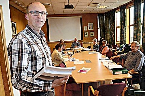 Assisterende rådmann Per Sverre Ersvik tror Kristiansund vil være ute av Robek-lista igjen allerede neste år.