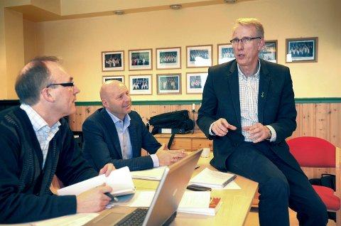 På vent: Ordfører Ola T. Heggem i Rindal konstaterer at søknaden om å bli en del av Trøndelag er lagt på vent.