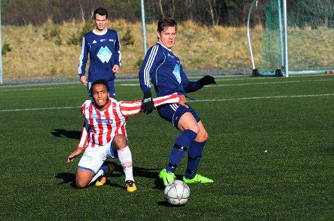 Hudaifa Cedra og AK spilte mot Vestnes Varfjell fredag.