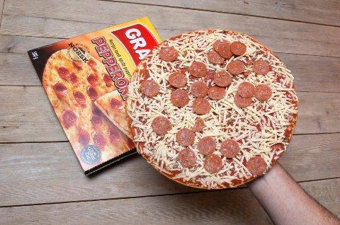 Pizzasalget nådde nye høyder i 2017.