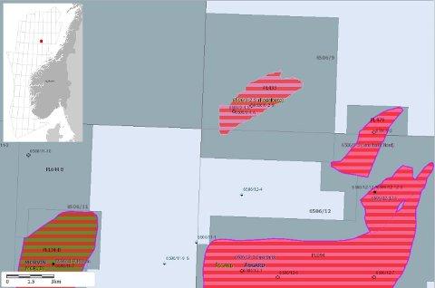 Lokalisering av Fogelberg-feltet.