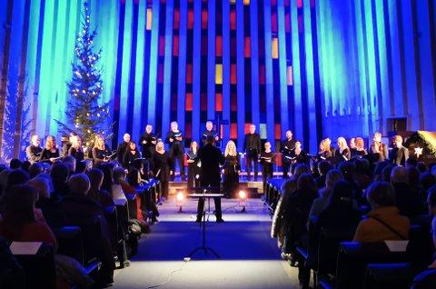 Ensemble Dali holdt konsert i Kirkelandet kirke lørdag kveld.