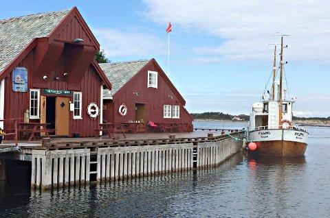 Silver Bell-kroa er en av bygningene på Håholmen, hvor det nå har kommet svar på klage på eiendomsskatten.