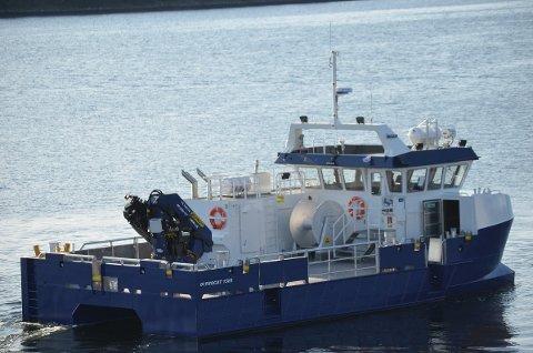 Arbeidsbåten «Repvåg» ble levert til Grieg Seafood Finnmark som bygg nummer 200 i 2019. Nå har Promek sikret seg leveranse av to nye arbeidsbåter til selskapet.