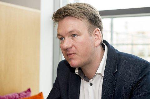 Offensiv: Anders Tyvand (KrF).