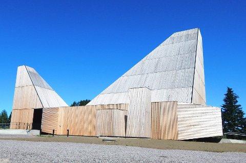 MODERNE: Våler kirke i Våler kommune i Hedmark