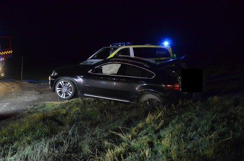 AIRBAG: En an BMWens airbager ble utløst i sammenstøtet.