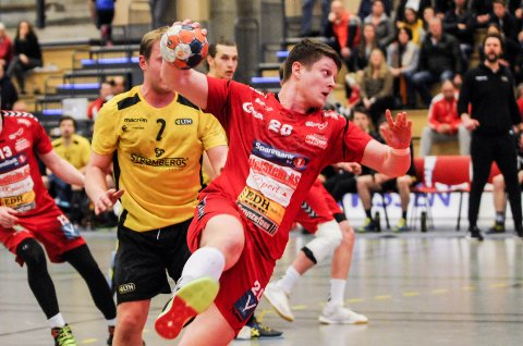 SURT: Jørgen Vasvik og Nøtterøy tapte mot Lillestrøm søndag kveld.