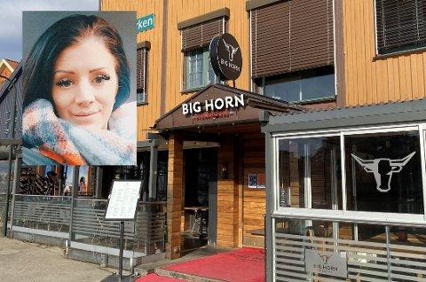 KORONASTENGT: Søndag måtte Big Horn Brygga stenge etter at en ansatt testet positivt for korona. Angelica Kristina Gjelseth reagerer på at gjestene ikke ble kontaktet.