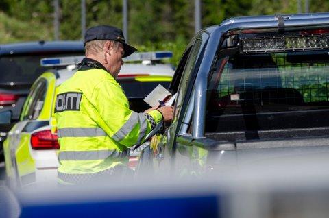 ROLIG I VESTFOLD: Kun noen få har mistet lappen på Vestfold-veiene i påsken. Det gleder distriktssjefen i UP.