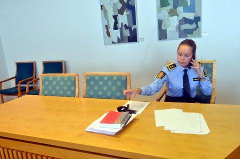 NARKOSIKTET. Politiadvokat Kjersti Brandtsegg Moe bekfefter at Levanger-mannen er siktet for oppbevaring av 500 gram amfetamin.
