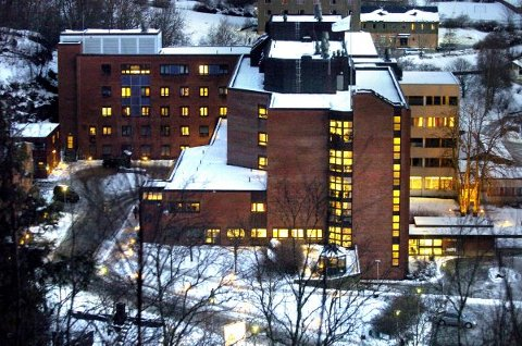INNLAGT: En koronasmittet pasient ble søndag innlagt på Sykehuset Namsos.