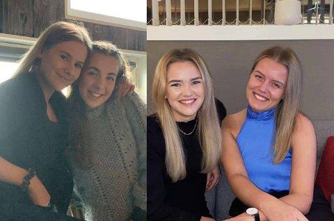 GODE VENNER: Laila Johansen (til venstre), Gunhild Viken, Julie Valstad og May Liss Lund er blitt mer takknemlige for tida de får bruke sammen etter å ha levd med strenge restriksjoner og nedstenginger i over ett år.