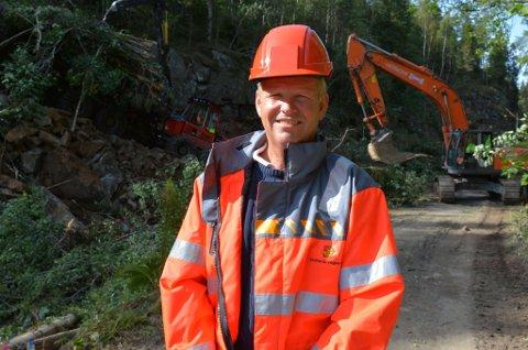 E18-prosjektleder Harald Tobiassen mottok en rekke trusler fra en grunneier i Arendal.