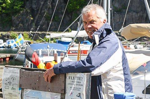 IMPONERT: Havnesjef ArneThorvald Aanonsen er imponert over hvor enkel og oversiktelig den nye appen er.
