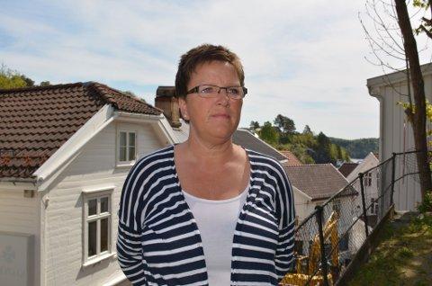 Ingebjør Jørgensen: Fikk besøk av ubudne gjester i båten, som lå fortøyd ved brygga i nedre bydel.