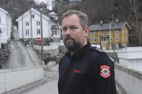På søkerlista: Espen Gåserud, brannmester i Tvedestrand og barnehagestyrer, har lyst på jobben.