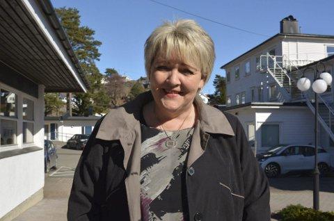 Gjerstads ordfører Inger Løite fraråder reiser til Oslo hvis ikke det er helt nødvendig.