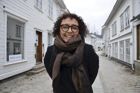 Camilla Grantham fra Tvedestrand er daglig leder i Pågang næringshage.