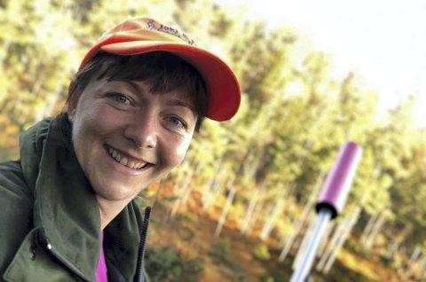 Kan skyte: Vegårsheis ordfører Kirsten Helen Myren er en aktiv elgjeger, og kan håndtere et våpen. Arkivfoto