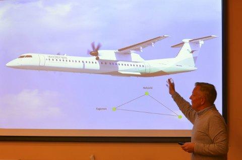 Prosjektleder: Nettverksarbeidet ledes av «2469 Reiselivsutvikling AS» med Børre Berglund (bildet) og Morten Torp i spissen. Disse personene har også vært sentrale for å få på plass chartertrafikk til Nord-Norge. Widerøe har erfaring med Fagernes lufthavn Leirin i forbindelse med rutefly. Nå vil de fly charterturister fra Danmark og Helsinki.