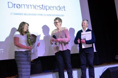 Aurora Rotnes fra Etnedal fikk Drømmestipendet på 10.000 kroner i 2015.