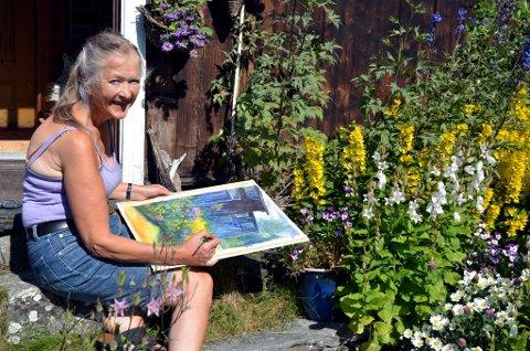 Gro Bjørhei er årets kunstner både når det gjelder Sommersymfonien og Galleri Perrongen.