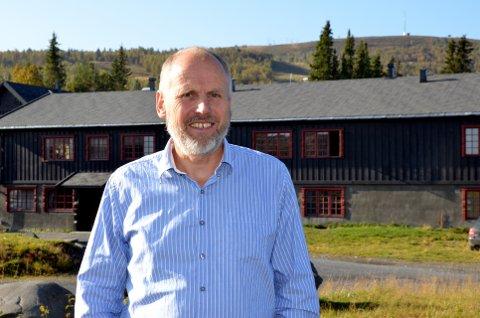 Positiv: - Vi må ha bedre mobil og 4G-dekningen i fjellet, sier Eivind Brenna.