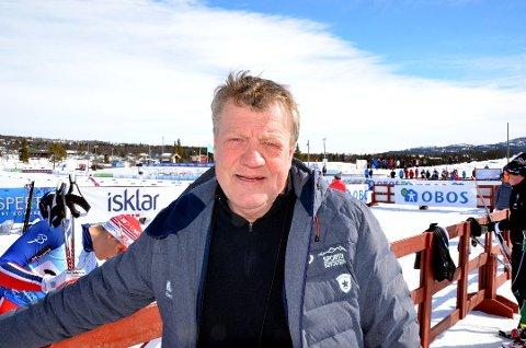 -Jeg hiver meg nedover denne dagen for å delta i kreftmarsjen, ingen tvil, sier Erik Østli.