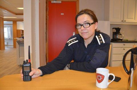 Brannsjef Laila Lien Østgård roser befolkningen i Valdres for mange og gode bidrag i forebygging av skogbrann.