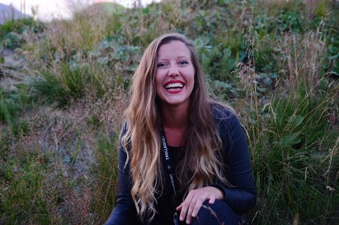 Miljøengasjert: Trine Duesund Urne holdt en konsert sammen med Helle Karlsdotter på Huldrescena på fredag. De bruker stemmene sine til å fremme bevissthet rundt miljøet.