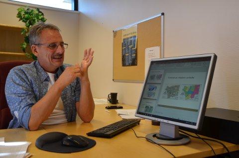 Erfaren: Knut Lihagen har jobbet i jordskifteretten i 34 år. De 15 siste har han vært dommer her i Valdres.