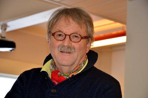 Gir seg: Knut Nes har trukket seg fra vervet som leder  av Valdres Hytteforum. Men sterke meninger har han ennå. Foto:Torbjørn Moen