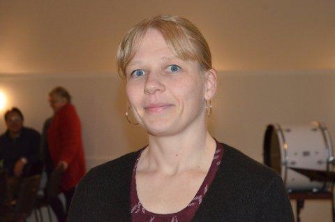 VIL BRUKE NYNORSK: Kommunestyrerepresentant Marianne Granheim Trøyflat (Sp) meiner alle sakpapir skal skrivast på nynorsk i Vestre Slidre, som har nynorsk som sin målform.