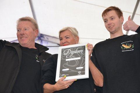 3. plass: Det er familien Kjernsholen som driver Slidre Ørretsenter, som held til utanfor Valdres, på Ingeberg.
