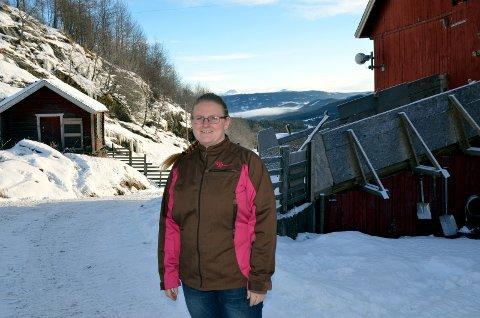 Vil bytte: Gro Arneng og fleire andre i Skjel ynskjer seg ei grensejustering.Arkivfoto: Geir Helge Skattebo