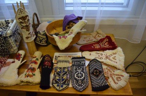 Brurevottar og andre finvottar var plasserte på eige bord til stor beundring.