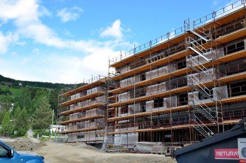 Dette bildet er fra byggingen i 2015. Nå er sjansen stor for at vi igjen ser bygging på VLMS-tomta.