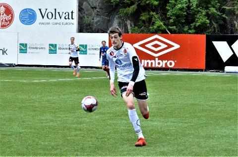 Scoret: Oskar Ledel har også scoret for Valdres FK sitt herrelag tidligere i år. Denne gang avgjorde han for juniorlaget.