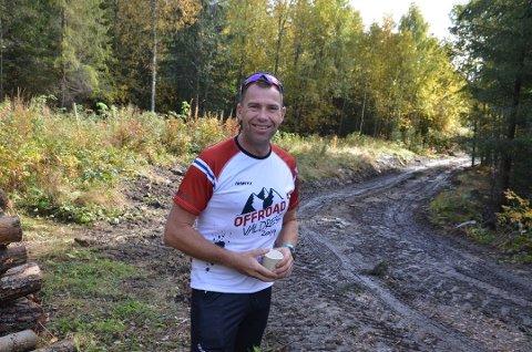 RENNLEDER: Sprekingen Ole Christian Nymoen er rennleder for Valdres skimaraton.